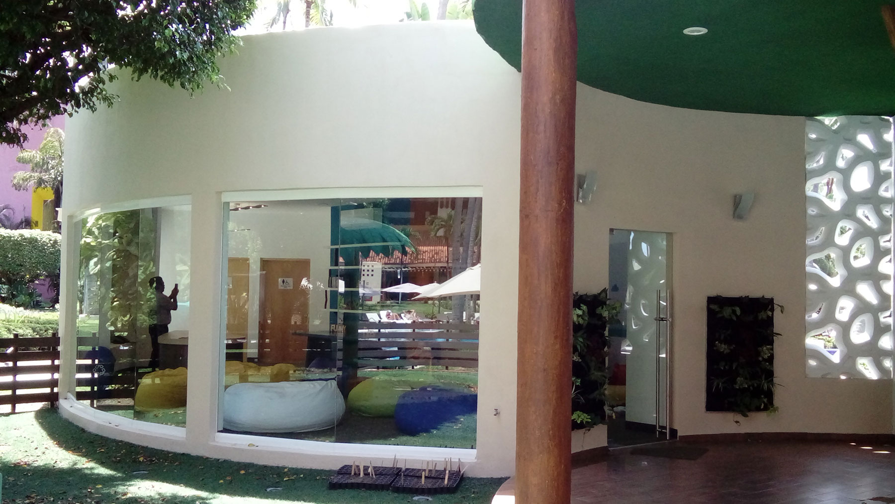 Proyectos SPAD Constructora, Westin Family Kids Club, Exterior jardín, Diseño de Interiores, Arquitectura, Puerto Vallarta, Jalisco, México