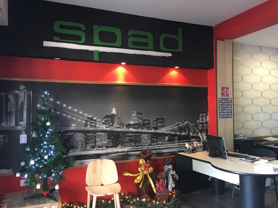 Nosotros SPAD Constructora, Oficina Navideña, Diseño de Interiores, Puerto Vallarta, Jalisco, México