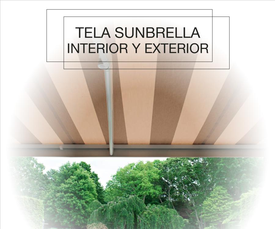 Productos SPAD Constructora, Toldos y tapicería marina, Tela Sunbrella interior y exterior, Puerto Vallarta, Jalisco, México